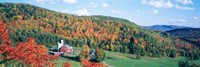 Hillside Acres Farm, Barnet, Vermont, USA Fine Art Print