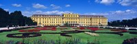 """Schonbrunn Palace, Gardens, Vienna, Austria by Panoramic Images - 36"""" x 12"""", FulcrumGallery.com brand"""