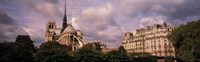 """France, Paris, Notre Dame by Panoramic Images - 36"""" x 12"""""""