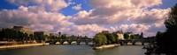 """France, Paris, Seine River by Panoramic Images - 36"""" x 12"""""""