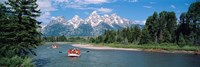 Rafters Grand Teton National Park WY USA Fine Art Print