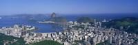 """Skyline, Cityscape, Coastal City, Rio De Janeiro, Brazil by Panoramic Images - 36"""" x 12"""", FulcrumGallery.com brand"""
