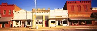 Store Fronts, Main Street, Chatsworth, Illinois by Panoramic Images - various sizes, FulcrumGallery.com brand