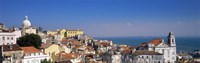 """Lisbon, Cityscape, Skyline, Portugal by Panoramic Images - 36"""" x 12"""", FulcrumGallery.com brand"""