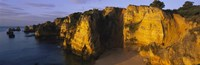"""Sandy Cove, Algarve, Portugal by Panoramic Images - 36"""" x 12"""", FulcrumGallery.com brand"""