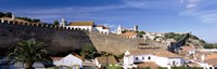 """Wall around a town, Obidos Portugal by Panoramic Images - 36"""" x 12"""""""