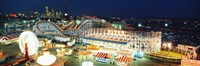 "Amusement Park Ontario Toronto Canada by Panoramic Images - 36"" x 12"""