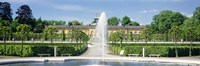 """Fountain in a garden, Potsdam, Germany by Panoramic Images - 36"""" x 12"""""""