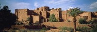 Buildings in a village, Ait Benhaddou, Ouarzazate, Marrakesh, Morocco Fine Art Print