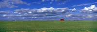 """Field And Barn, Saskatchewan, Canada by Panoramic Images - 36"""" x 12"""""""