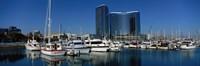 "Embarcadero Marina Hotel, San Diego, California, USA by Panoramic Images - 36"" x 12"""