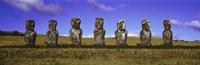 Moai Easter Island Chile Fine Art Print