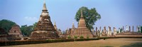 """Sukhothai Historical Park Thailand by Panoramic Images - 36"""" x 12"""""""
