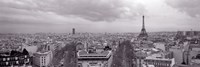 """Eiffel Tower, Paris, France by Panoramic Images - 36"""" x 12"""""""