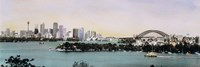"""Sydney Harbor, New South Wales, United Kingdom, Australia by Panoramic Images - 36"""" x 12"""" - $34.99"""