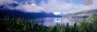 "St Mary Lake, Glacier National Park, Montana, USA by Panoramic Images - 36"" x 12"""