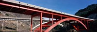 """Two bridges San Carlos Indian Reservation AZ USA by Panoramic Images - 36"""" x 12"""""""