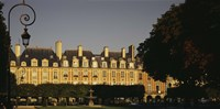 "Facade of a building, Place des Vosges, Paris, France by Panoramic Images - 36"" x 12"", FulcrumGallery.com brand"