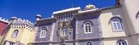 "Low angle view of a palace, Palacio Nacional Da Pena, Sintra, Lisbon, Portugal by Panoramic Images - 36"" x 12"", FulcrumGallery.com brand"