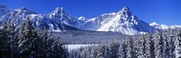"""Banff National Park in Winter, Alberta Canada by Panoramic Images - 36"""" x 12"""""""