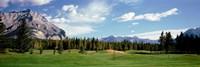 Golf Course Banff Alberta Canada Fine Art Print