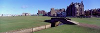 "Footbridge in a golf course, The Royal and Ancient Golf Club of St Andrews, St. Andrews, Fife, Scotland by Panoramic Images - 36"" x 12"""