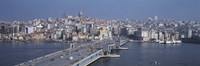 """Turkey, Istanbul, skyline by Panoramic Images - 36"""" x 12"""""""