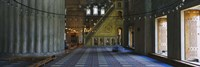 """Interior of a mosque, Istanbul, Turkey by Panoramic Images - 36"""" x 12"""""""