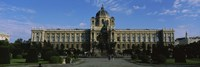 "Facade of a museum, Museum Of Fine Arts, Vienna, Austria by Panoramic Images - 36"" x 12"""