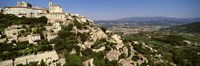 """Gordes, France by Panoramic Images - 36"""" x 12"""""""