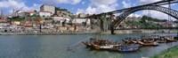 """Bridge Over A River, Dom Luis I Bridge, Douro River, Porto, Douro Litoral, Portugal by Panoramic Images - 36"""" x 12"""" - $34.99"""