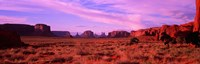 """Dawn Sky in Monument Valley, Utah by Panoramic Images - 36"""" x 12"""""""