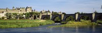 Aude River, Carcassonne, Languedoc, France by Panoramic Images - various sizes