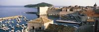 "Harbor Of Dubrovnik, Croatia by Panoramic Images - 36"" x 12"""