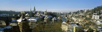 """High angle view of a city, Berne, Switzerland by Panoramic Images - 36"""" x 12"""""""
