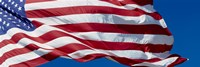 """Close-up of an American flag fluttering, USA by Panoramic Images - 36"""" x 12"""""""