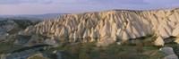 Hills on a landscape, Cappadocia, Turkey Fine Art Print