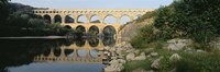 """France, Nimes, Pont du Gard by Panoramic Images - 36"""" x 12"""""""