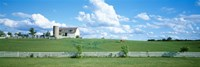 """Dairy Farm Janesville, Wisconsin, USA by Panoramic Images - 36"""" x 12"""", FulcrumGallery.com brand"""
