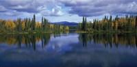 "Dragon Lake Yukon Canada by Panoramic Images - 36"" x 12"", FulcrumGallery.com brand"
