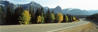 """Road Alberta Canada by Panoramic Images - 36"""" x 12"""", FulcrumGallery.com brand"""