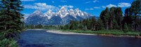 Snake River & Grand Teton WY USA Fine Art Print