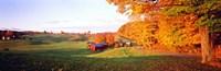 Fall Farm VT USA Fine Art Print
