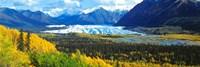 "Mantanuska Glacier AK USA by Panoramic Images - 36"" x 12"""