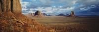 """Monument Valley, Utah, Arizona, USA by Panoramic Images - 36"""" x 12"""""""