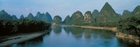 """Guilin Guanxi China by Panoramic Images - 36"""" x 12"""""""