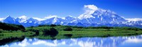 Reflection Pond, Mount McKinley, Denali National Park, Alaska, USA Fine Art Print