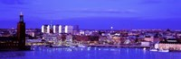 """City Hall, Stockholm, Sweden by Panoramic Images - 36"""" x 12"""""""
