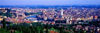 """Cityscape, Verona, Italy by Panoramic Images - 36"""" x 12"""""""