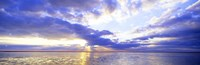 """Sunset, Germany by Panoramic Images - 36"""" x 12"""" - $34.99"""